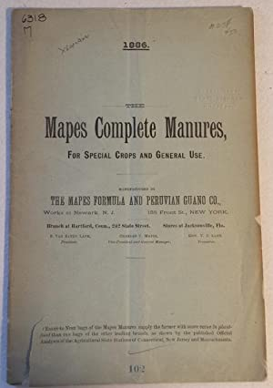 The Mapes Complete Manures, for Special Crops