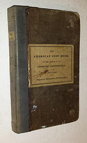 THE AMERICAN JEST BOOK, BEING A CHASTE: Anonymous.