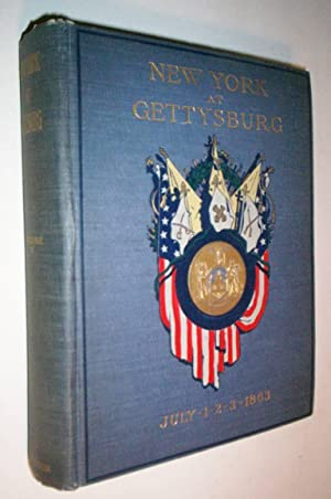 FINAL REPORT ON THE BATTLEFIELD OF GETTYSBURG.: New York Monuments