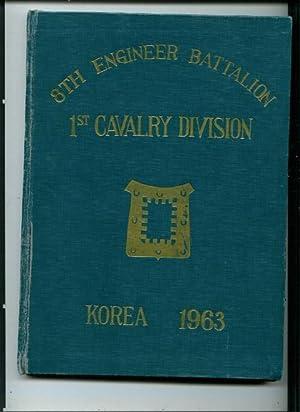 8th Engineer Battalion 1st Cavalry Division Korea 1963