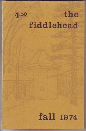 THE FIDDLEHEAD, Fall 1974, #103: Hayter, Sparkle)