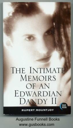 The Intimate Memoirs of an Edwardian Dandy: Mountjoy, Rupert