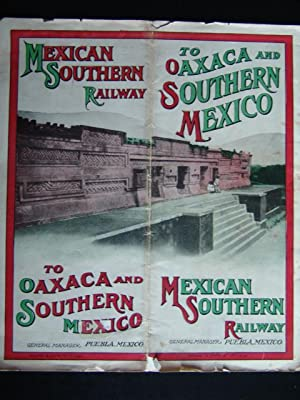 THE MEXICAN SOUTHERN RAILWAY: Anon,