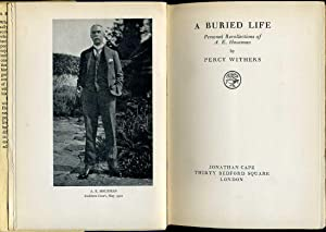 A Buried Life : Personal Recollections of A. E. Housman