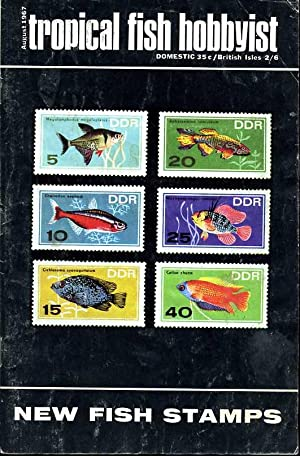 Tropical Fish Hobbyist - August 1967