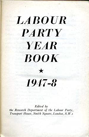 Labour Party Year Book 1947-8