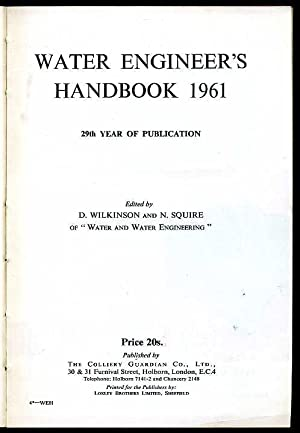 Water Engineer's Handbook 1961