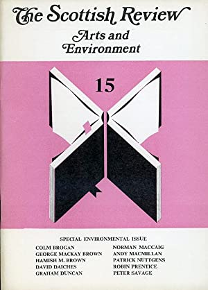 The Scottish Review : Arts and Environment No 15 - 1979