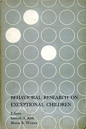 Behavioral Research on Exceptional Children