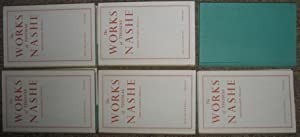The Works of Thomas Nashe : Five (5) Volumes