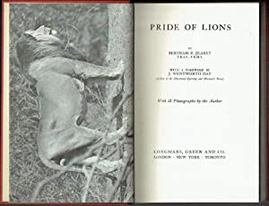 Pride of Lions ; with 68 photographs by the Author