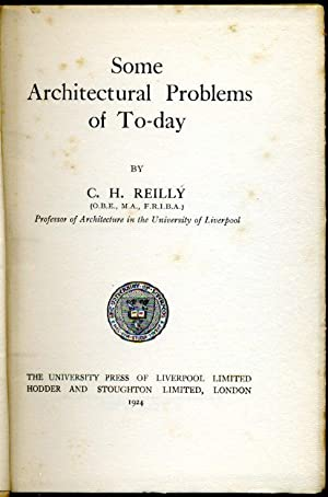 Some Architectural Problems of Today (Signed By Author)