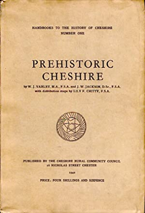 Prehistoric Cheshire : Handbooks to the History of Cheshire Number One