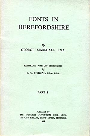 Fonts in Herefordshire : Part I