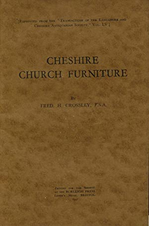 Cheshire Church Furniture : Part III