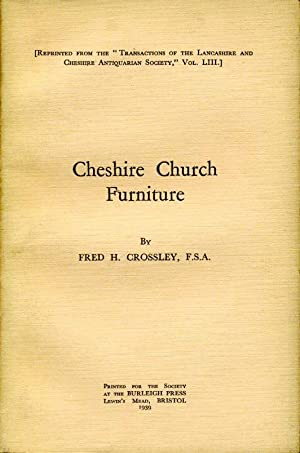 Cheshire Church Furniture : Part I