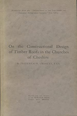 On the Constructional Design of Timber Roofs in the Churches of Cheshire