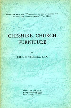 Cheshire Church Furniture : Part II