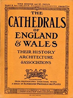The Cathedrals of England and Wales : Their History Architecture & Associations (complete 20 Volu...