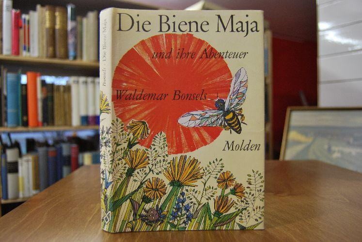 Die Biene Maja und ihre Abenteuer. Buchgestaltung: Bonsels, Waldemar: