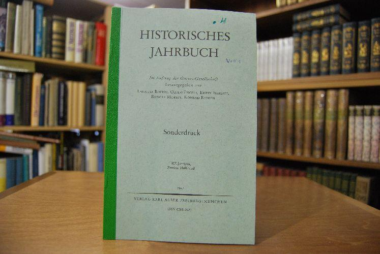 """Sonderdruck des Aufsatzes: """"Hexenprozesse und Geschichtswissenschaft."""" Aus: Hehl, Ulrich von:"""