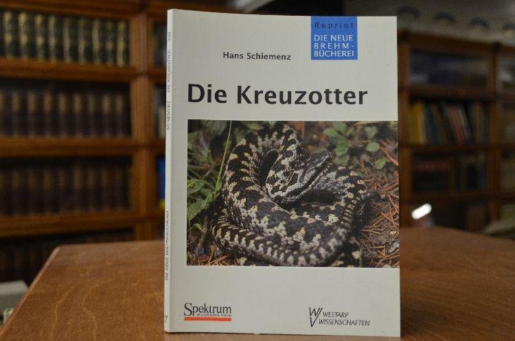 Die Kreuzotter. Vipera berus. Die neue Brehm-Bücherei: Schiemenz, Hans: