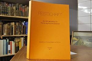 Festschrift zum 60. Geburtstag von Prof. Dr.-Ing. Erich Truckenbrodt. Gewidmet von Freunden, ...