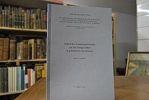Technischer Bericht Nr. 6. Aus dem Institut für Hydraulik und Hydrologie der Technischen Hochschule...