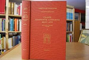 Clavis des Auteurs Latins du Moyen Age. Territoire Francais 735-987. Tomus 2 (von 3). Corpus ...
