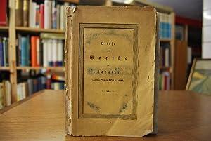 Briefe von Goethe an Lavater. Aus den Jahren 1774 bis 1783. Nebst einem Anhange und zwei Facsimile:...