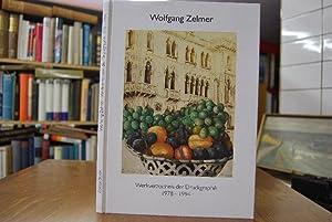 Wolfgang Zelmer. Werkverzeichnis der Druckgraphik 1978-1994. Einführung von Martina Hoehme: Bode, ...