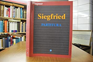 Siegfried. Partitura.