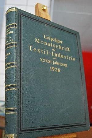 Leipziger Monatsschrift für Textil-Industrie