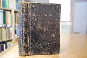 Gesangbuch für die protestantische Kirche des Königreichs Bayern.