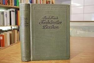 Kleines Tonkünstlerlexikon. Enthaltend kurze Biographien der Tonkünstler früherer und neuerer Zeit....