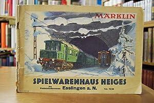 Märklin Katalog 1937/38 D.