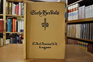 A Catalogue of Early Herbals. Mostly from the well-known Library of Dr. Karl Becher, Karlsbad. With...
