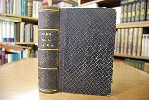 Kleine Schriften pädagogischen und biographischen Inhalts, mit: Roth, Carl Ludwig: