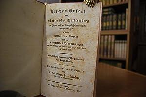 Bd. 1: Ehe-Geseze des Herzogthums Wirtemberg, in einem vollständigen systematischen Auszug aller ...