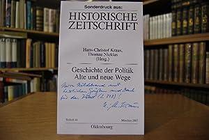 """Sonderdruck des Aufsatzes: """"Geschichte als Lebensgeschichte. Gegenwart und Zukunft der ..."""
