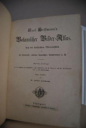 Carl Hoffmann`s Botanischer Bilder-Atlas. Nach dem Natürlichen Pflanzensystem von De Candolle, ...