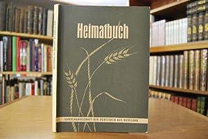 Heimatbuch der Deutschen aus Russland 1959. Enthält: Stumpp, Karl:
