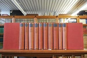 Goethes poetischen Werke. Vollständige Ausgabe. 10 Bände (komplett).: Goethe, Johann Wolfgang: