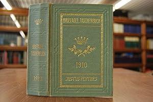 Gothaisches Genealogisches Taschenbuch der Briefadeligen Häuser. 1910. Vierter Jahrgang.