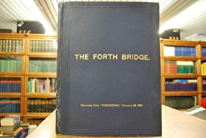 """The Forth Bridge. Reprinted from """"Engineering,"""" February 28, 1890."""