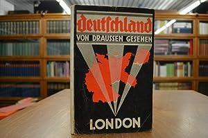 Deutschland von draussen gesehen London: Kries, Wilhelm von: