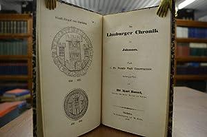 Die Limburger Chronik des Johannes. Nach J.Fr. Faust`s Fasti Limpurgenses.: Rossel, Karl: