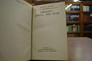 Germany: Jekyll and Hyde.: Haffner, Sebastian: