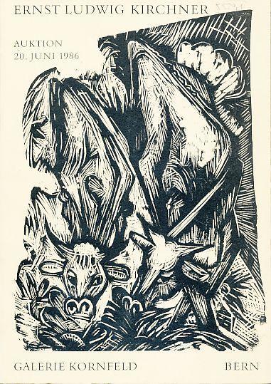 2 Auktionskataloge Ernst Ludwig Kirchner. Bern, Kornfeld: Kirchner, Ernst-Ludwig: