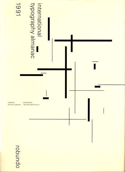 International typography almanac. Editor: Evolution Graphics.